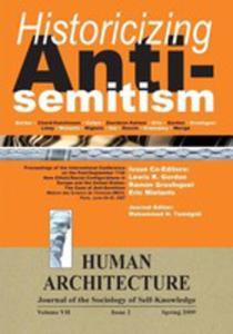 Historicizing Anti-semitism (Proceedings Of The International Conference On  - 2849006714