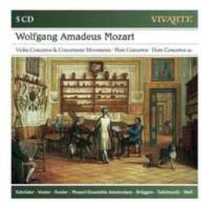 Mozart: Violin Concertos & Concertante Movements / Flute Concertos / Horn Concertos Etc. - 2839296118