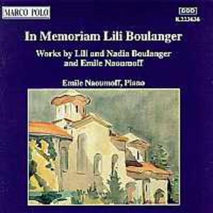 In Memoriam Lili Boulanger - 2839192644
