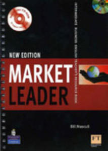 Market Leader Intermediate New Edition - Teacher's Book Plus Test Master Cd-rom Plus Dvd [Ksi��ka Nauczyciela Plus Test Master Cd-rom Plus Dvd] - 2839266068