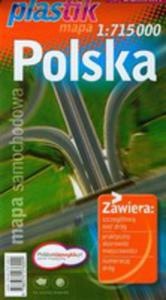 Polska. Mapa Samochodowa Plastik W Skali 1:715 000 - 2839272018