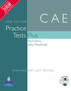 Practice Tests Plus Cae - Book (No Key) Plus Itest Cd-rom Plus Audio Cd [Książka Bez Klucza Plus Itest Cd-rom Plus Audio Cd] - 2839265995