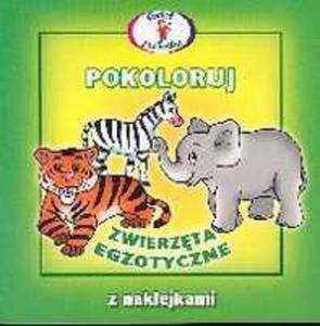 Pokoloruj Zwierzęta Egzotyczne
