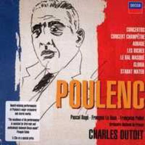 Poulenc: Concertos, Orchestral & Choral Work - 2839222077