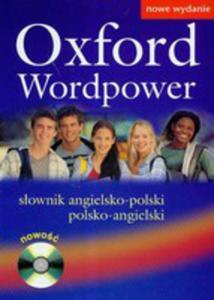Oxford Wordpower Słownik Angielsko-polski Polsko-angielski + Cd - 2839233315