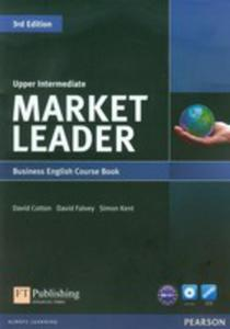 Market Leader Upper Intermediate Business English Course Book + Dvd - 2839377769