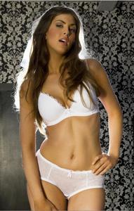 KEIA PINK Natalie White Plunge - 1747657545