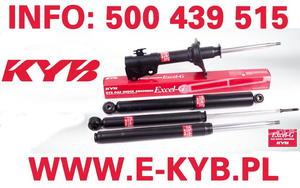 KYB 343233 AMORTYZATOR RENAULT R19/ CHAMADE /2 DRAZ.SKRE./ TYL GAZ EXCEL-G * KAYABA - 2175049130