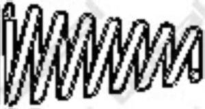 251-971 BSL 251-971 TLUMIK- AKCESORIA SPREZYNA TLUMIKA 51 A RENAULT BOSAL CZESCI MONTAZOWE BOSAL [869105] - 2174947779