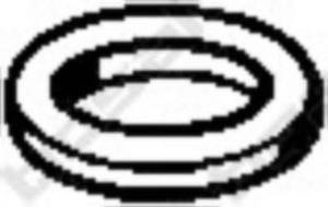 256-214 BSL 256-214 USZCZELKA TLUMIKA - TOYOTA COROLLA ,MAZDA 323 BOSAL CZESCI MONTAZOWE BOSAL [945628] - 2174960986