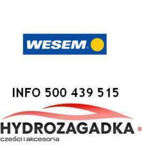 18068 3HO 18068 AKCESORIA OSWIETLENIE - HALOGEN DROGOWY BIALY OKRAGLY+ZAR SR.152MM WESEM...