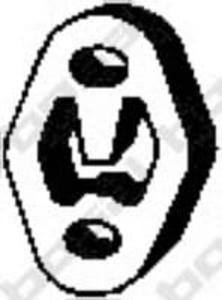 255-121 BSL 255-121 WIESZAK TLUMIKA WIESZAK GUMOWY FORD MONDEO III SZT BOSAL TLUMIKI (PG) (BC) BOSAL [1128449] - 2175029255