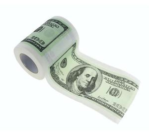 "Papier toaletowy ""Dolary"" 1szt.. - 2853784554"