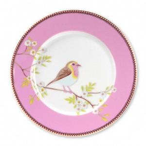 Talerz Early Bird Pink 21 cm - 5317 Talerz Early Bird Pink - 21 cm - PiP studio - 2832630375