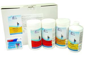 Zestaw chlorowy Starter Set do dezynfekcji, regulacji współczynnika pH w wodzie basenowej i zapobiegania powstawaniu glonów - 2875302059