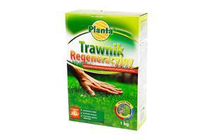 Trawnik regeneracyjny z nawozem (nasiona traw + nawóz ) 1kg - 2833016747