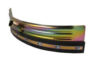 Wytrzymała, metalowa ściągaczka do wody, półokrągła 75 cm - 2873316953