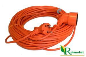 Przedłużacz ogrodowy kosiarkowy Acar 2x1,5mm -40m - 2833017585
