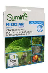 Miedzian 50 WP 100 g – środek grzybobójczy (fungicyd) do ochrony roślin rolniczych i...