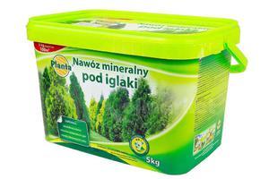 Nawóz mineralny pod iglaki w wiaderku Planta 5 kg - 2865589290