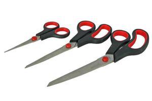 Nożyczki, zestaw nożyczek uniwersalnych - 3 sztuki - 2833018517