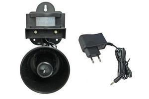 Skuteczny dźwiękowy odstraszacz ptaków BIRDCHASER PIR SONIC + zasilacz - 2834504865