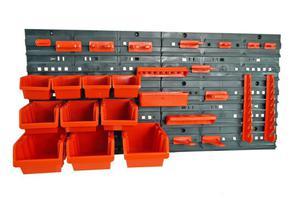 Tablica warsztatowa z plastikowymi pojemnikami, kuwetami NTBNP4 - 2833019074