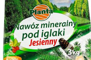 Nawóz mineralny pod iglaki jesienny 3kg PLANTA - 2833016115