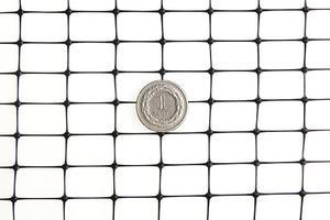 Siatka przeciw kretom, na krety, oczko 13x20mm – 2x100 m czarna - 100m