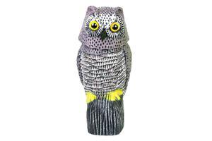 Sowa z kręcącą głową- odstraszacz ptaków i gryzoni, mix kolorów - 2858176493