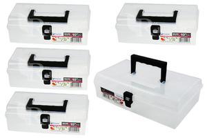 Skrzynka przezroczysta, organizer Unibox NUN10 4 szt i 1 szt Unibox NUN12 Prosperplast - 2844192325