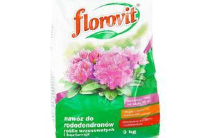 Florovit nawóz do rododendronów, roślin wrzosowatych i hortensji 3kg - 2874089667