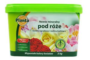 Nawóz pod różę i kwiaty Planta 5kg wiaderko - 2875302046