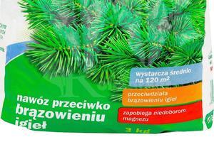 Florovit nawóz przeciwko brązowieniu igieł 3kg - 2878992443