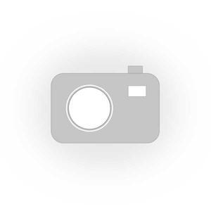 Brązowy miękki szalik komin damski z kolorową nitką - brązowy - 2857923006