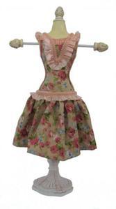 STOJAK na biżuterię - w kwiecistej sukience - 2826001943