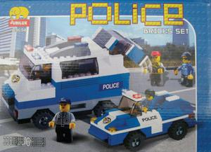 KLOCKI POLICJA 338PCS - POLICJA 338 pcs. - 2826001941