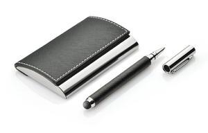 Zestaw upominkowy - touch pen, wizytownik - 2255950217