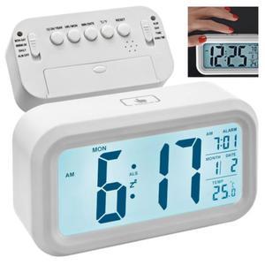 Zegarek na biurko z wyświetlaczem LCD - 3542 - 2837482811