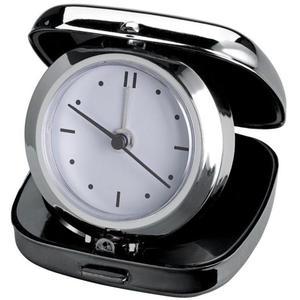 Metalowy zegar, budzik podróżny - 2255949527