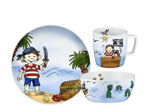 Zestaw dla dzieci 7 szt. PIRAT PADDY - AUERHAHN - 0606-0201 - 2832520101