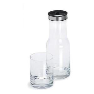 Szklana karafka na wodę ze szklanką Aqua - BLOMUS - 63435 - 2832520158