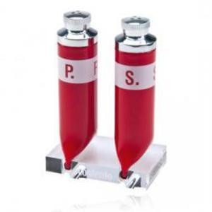 Zestaw solniczka i pieprzniczka P.S., czerwony - CONTENTO - 671984 - 2832520245