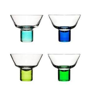 Kieliszki do martini Club, niebieski i zielony - SAGAFORM - 5015925 - 2832520565