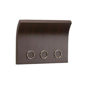 Panel magnetyczny na klucze Magnetter, espresso - Umbra - 318200 - 213 - 2832520656