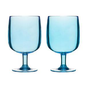 Kieliszki akrylowe, niebieskie - SAGAFORM - 5016248 - 2832520723