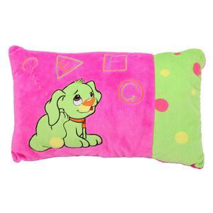 Poduszka z pieskiem, różowa - NLHE648 - 2832521424