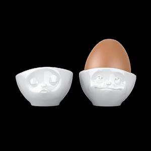 Kieliszki do jajek CAŁUJĄCA I ROZMARZONA BUŹKA - 58Products - T015101 - 2832521503