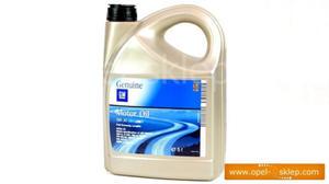 Olej silnikowy - syntetyk 5W-30 5L DEXOS 2 - 1942003 OPEL - GM - 2823255061