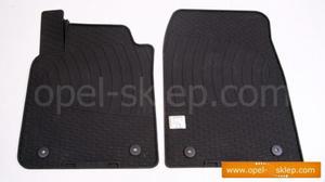 Dywaniki - wyk�adziny gumowe przednie Vectra C - komplet 2-cz�ciowy OPEL GM - 2823250048